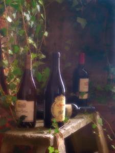 Wine Cellar II by Donna Geissler