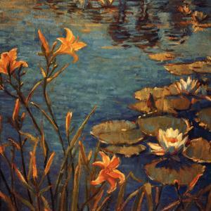 Tiger Lilies by Donna Norine Schuster