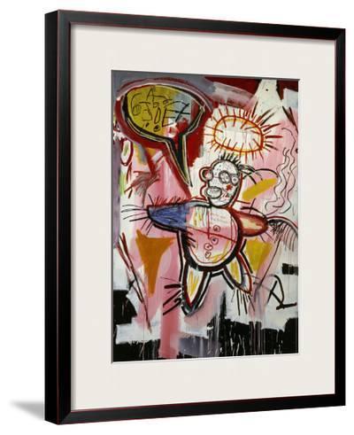 Donut Revenge-Jean-Michel Basquiat-Framed Giclee Print