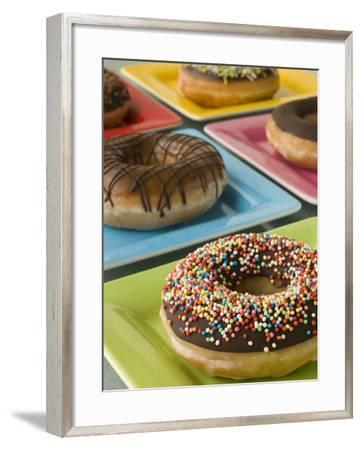Donuts--Framed Photographic Print