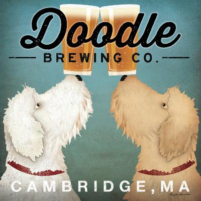Doodle Beer Double - Cambridge MA-Ryan Fowler-Wall Mural