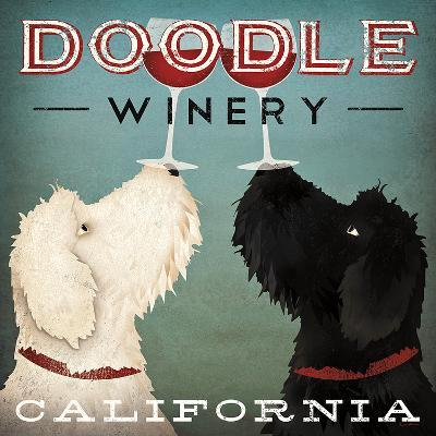 Doodle Wine-Ryan Fowler-Art Print