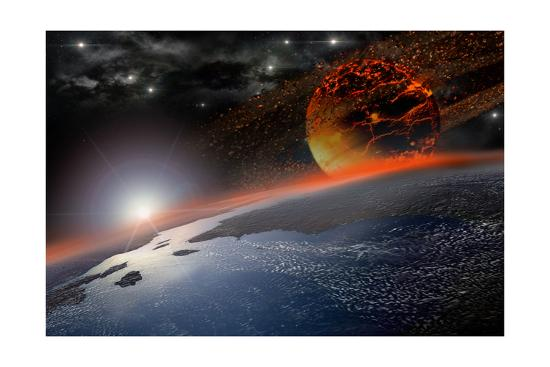 Doom Morning on Earth-3000ad-Art Print
