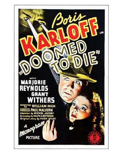 Doomed To Die - 1940--Giclee Print