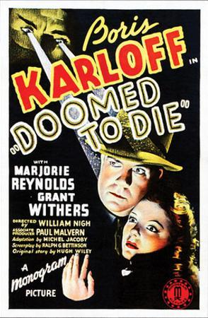 Doomed To Die - 1940