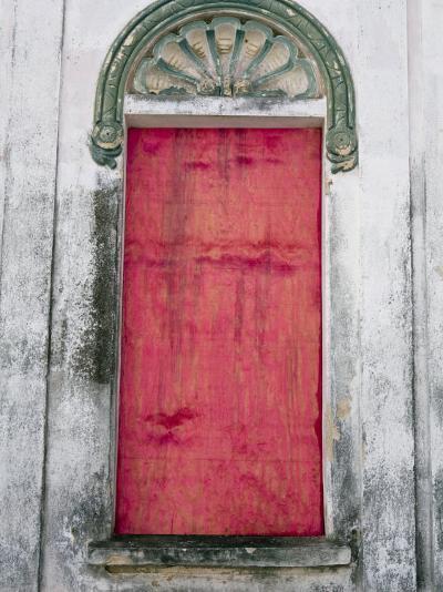 Door in a Building in a Small Town West of Sao Paulo, Brazil-Scott Warren-Photographic Print