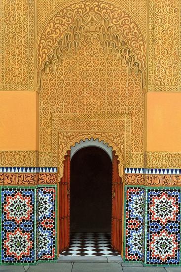 Door, Marrakech, 1998-Larry Smart-Giclee Print