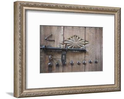 Door. Nizwa, Oman.-Tom Norring-Framed Photographic Print