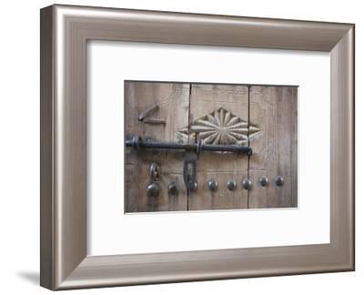 Door. Nizwa, Oman.-Tom Norring-Framed Photographic Print