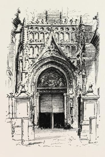 Door of Seville Cathedral, Spain--Giclee Print