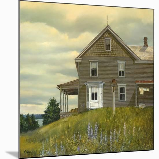 Door yard Lupines-Jerry Cable-Mounted Giclee Print