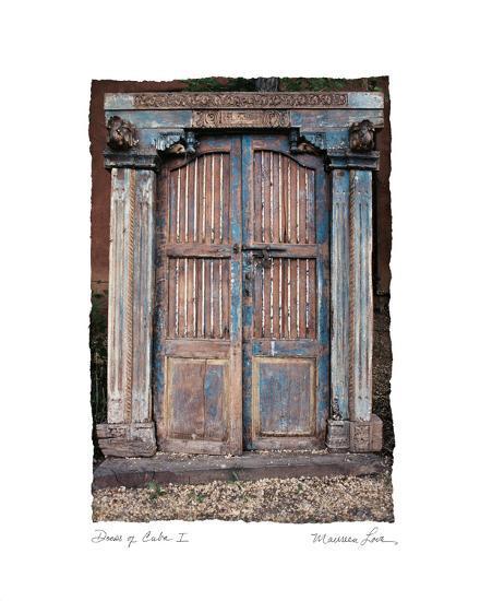 Doors of Cuba I-Maureen Love-Photo