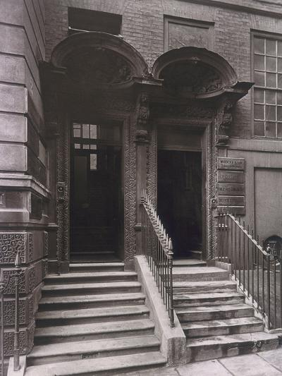 Doorways at Laurence Pountney Hill, London, 1884-Henry Dixon-Photographic Print