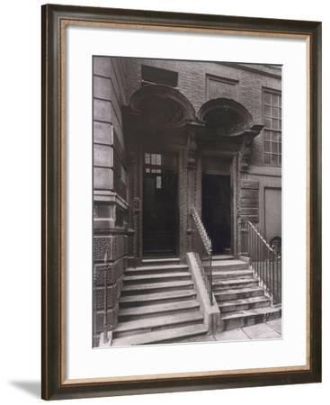 Doorways at Laurence Pountney Hill, London, 1884-Henry Dixon-Framed Photographic Print