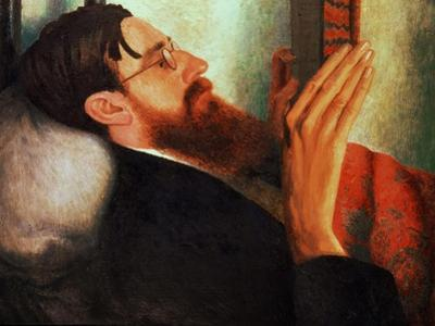 Lytton Strachey, (1880-1932) 1916 by Dora Carrington