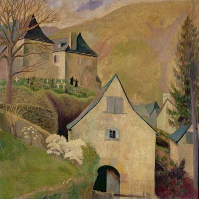 Mountain Church, Larrau by Dora Carrington