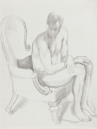Ralph Partridge, 1921 by Dora Carrington