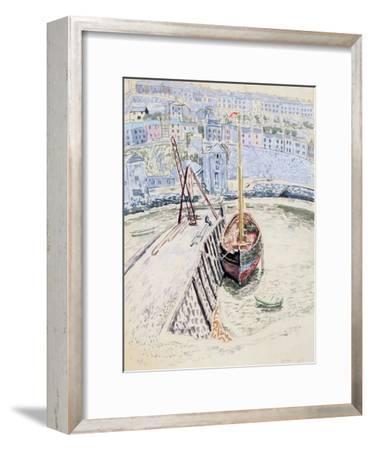 The 'Sans Pareil' in Brixham Harbour, c.1931
