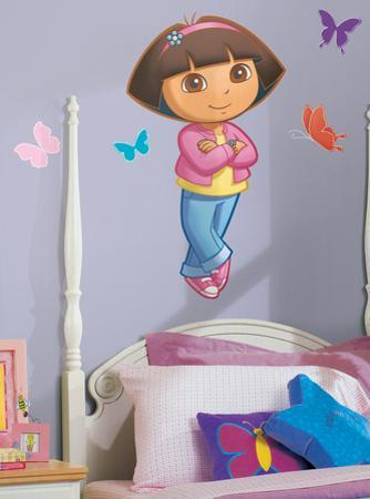Dora Peel & Stick Giant Wall Decals