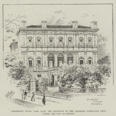 Dorchester House Park Lane, the Residence of the Shahzada Nasrullah Khan During His Stay in London--Giclee Print