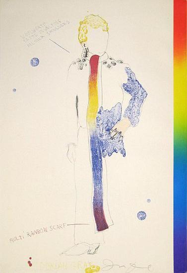 Dorian Gray, Rainbow-Jim Dine-Premium Edition