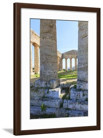 Dorian Temple of Segesta. 5th Century BC. Sicily, Italy-Tom Norring-Framed Photographic Print