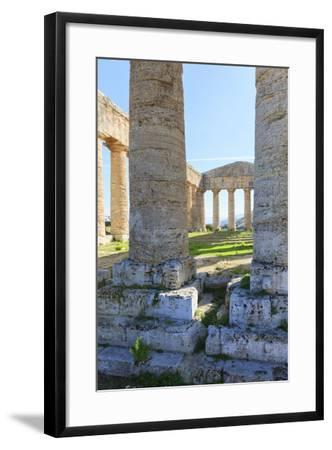 Dorian Temple of Segesta. 5th Century BC. Sicily, Italy-Tom Norring-Framed Photographic Print
