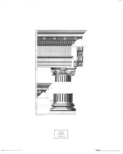 Doric Order-Abraham Swan-Art Print