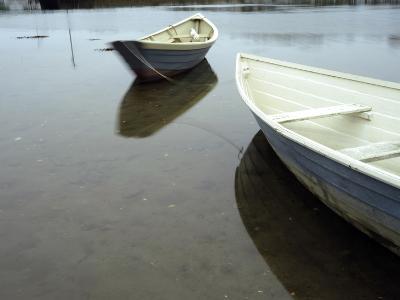 Dories at Low Tide-Raul Touzon-Photographic Print