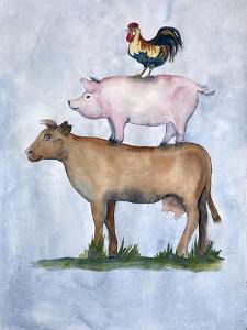 Misunderstood Cow by Doris Charest