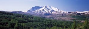 Dormant Volcano, Mt St. Helens, Mt St. Helens National Volcanic Monument, Washington State, USA