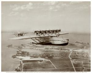 Dormier Do-X, in Flight over Norfolk, Virginia, 1931