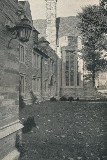 'Dormitories and Dining Hall. Princeton University, New Jersey', c1922-Unknown-Photographic Print