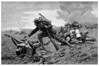 Sergeant Tanviray at Loigny, 1895