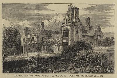 Dornden, Tunbridge Wells, Residence of the Princess Louise and the Marquis of Lorne--Giclee Print