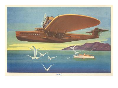 Dornier Do-X Flying Boat--Art Print