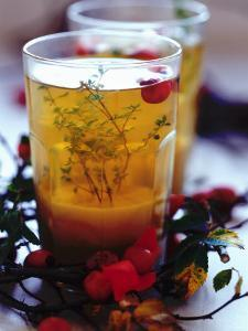 Ginger Tea with Thyme and Red Berries by Dorota & Bogdan Bialy
