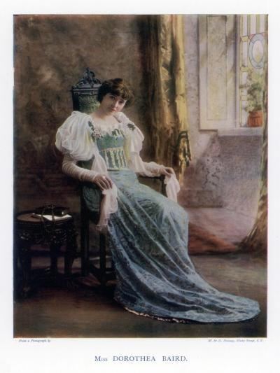 Dorothea Baird, English Stage and Film Actress, 1901-W&d Downey-Giclee Print