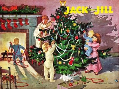 Deck the Halls - Jack and Jill, December 1950