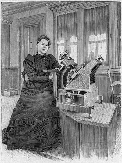 Dorothea Klumpke Roberts, American Mathematician and Astronomer, 1903--Giclee Print
