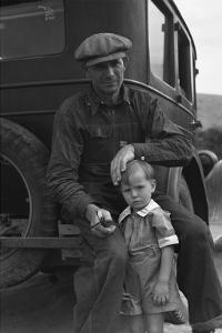 1936 Drought Refugee by Dorothea Lange