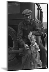 1936 Drought Refugee by Dorothea Lange
