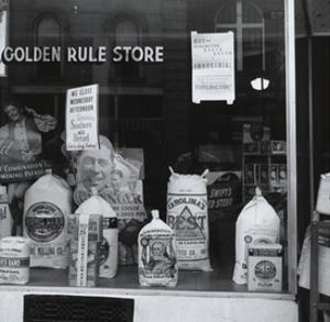 A Grocery Window by Dorothea Lange