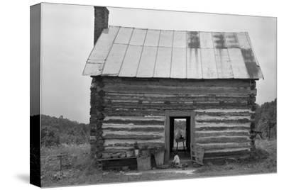 African American Sharecropper House with Child on Steps, North Carolina, July 1939