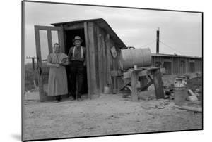 Basement Home by Dorothea Lange
