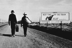 California Highway by Dorothea Lange