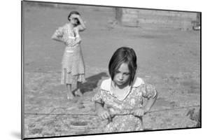 Child of a Rehab Client by Dorothea Lange