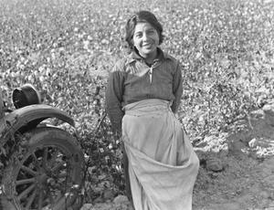 Cotton Picker by Dorothea Lange