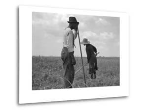 Cotton Sharecroppers by Dorothea Lange
