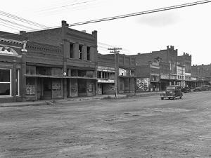 Depression Era Town by Dorothea Lange